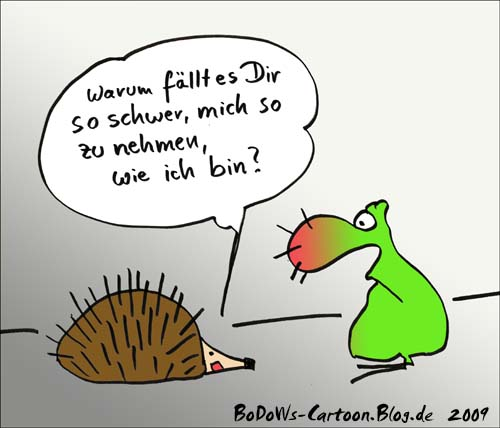 Igel-cartoon 2009-c